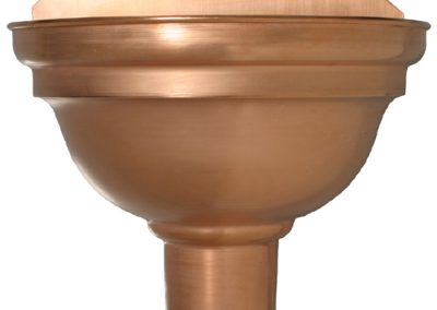 COPPER SPHERICAL LEADER HEADS