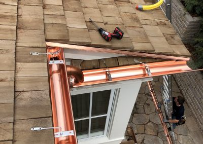 copper gutters 16