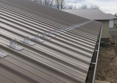 steel roof gutters
