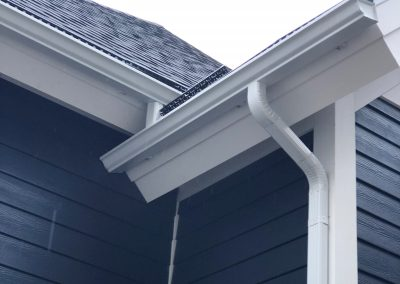 white gutters
